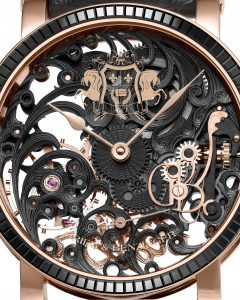 The craftsmen at luxury watch company Grieb & Benzinger have unveiled a new signature unique watch for the Middle East called the Black Tulip Sabudha Imperial.