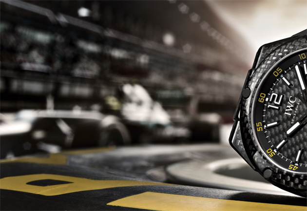 IWC Schaffuausen 2013 Ingenieur watch collection In Partnership with the Mercedes AMG Petronas Formula One Team
