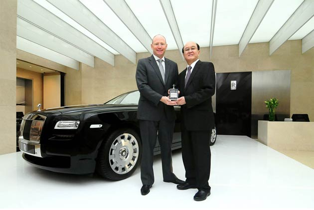 A Decade of Rolls-Royce in Singapore Marked With New Showroom and Bespoke Ghost Extended Wheelbase