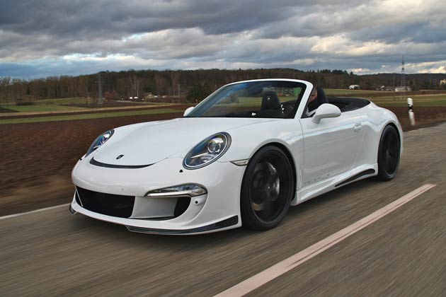 Gemballa Releases GT Package For Porsche 991 Carrera S Convertible.
