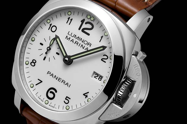 Officine Panerai Reveals First 42mm Luminor Marina 1950 3 Days With White Dial
