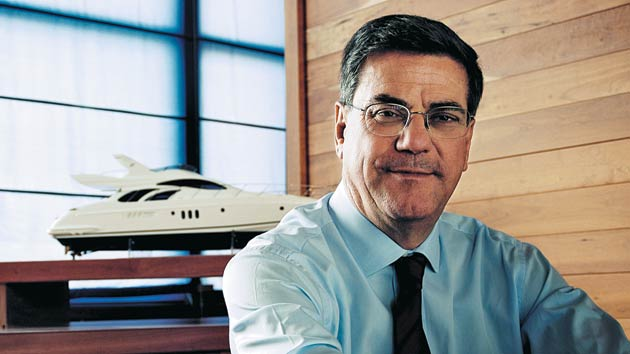 Paolo Vitelli - In 1985 the boatyard was bought by another of Italy's great Yacht Company's, Turin based Azimut Yachts. With new management, Benetti made a further leap forward into the modern world of luxury boat building that we know today.