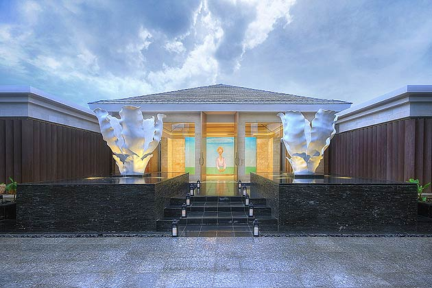 The Mulia Spa at Nusa Dua, Bali with Asia Pacific's only Ice fountain room
