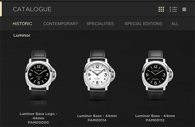 The Italian watchmaker, Officine Panerai, has launched their new 2013 Catalogue app for the iPad and iPhone, the most up-to-date tool for all enthusiasts who want to find out about the latest novelties of the haute horologerie company from Florence.