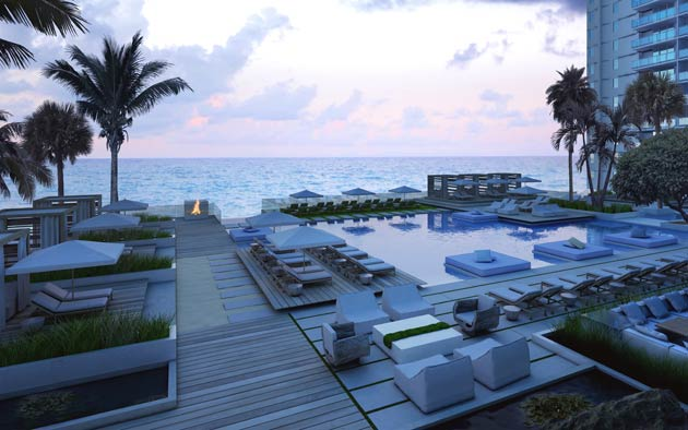 Starwood Capital Group, the LeFrak Organization and Invesco have introduced a dramatic new residential project on Miami Beach, Florida (USA): The 1 Hotel & Residences South Beach.