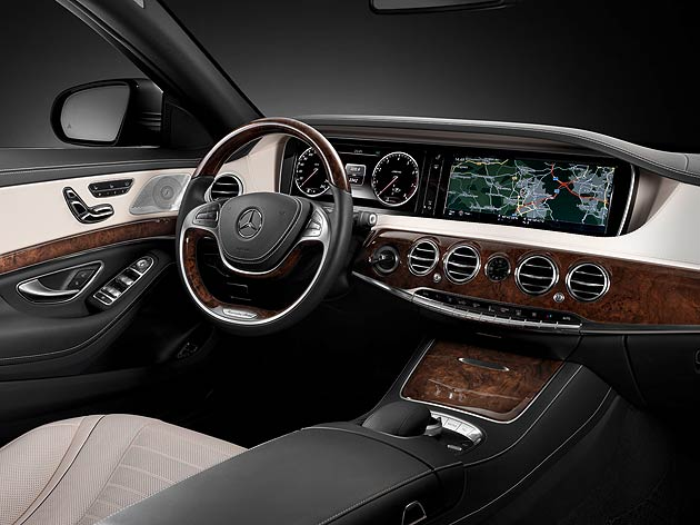 The new Mercedes-Benz S-Class is not just a technological spearhead for the company but for automotive development as a whole.