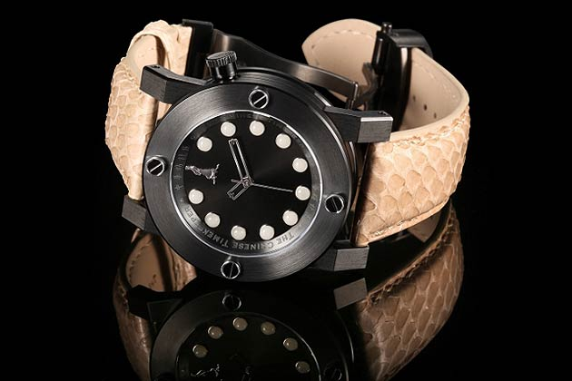 The Chinese Time Keeper CTK18 White Jade Automatic wrist watch