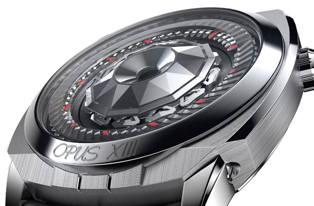 The Harry Winston Opus XIII wristwatch, changing the way we view time.