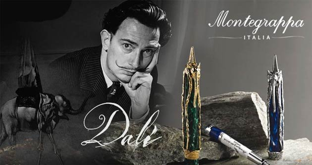Salvador Dalí joins Modigliani and Stradivari as the third artist in Montegrappa's Genio Creative series.