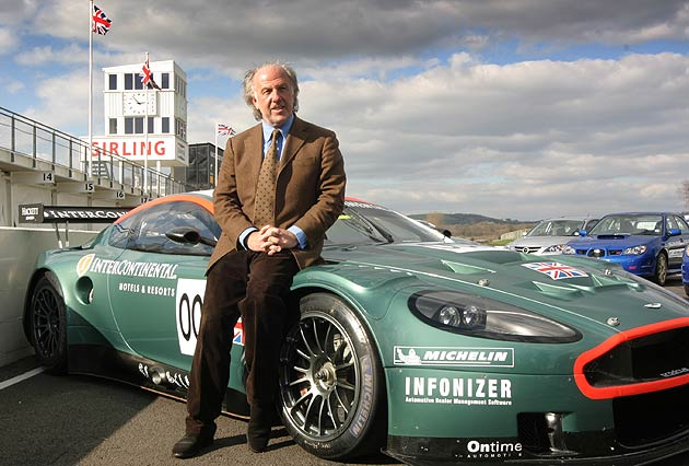 David Richards CBE, Chairman of Aston Martin.