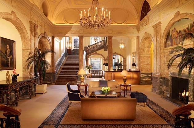 Enter The Winter Garden At The Landmark Hotel 16