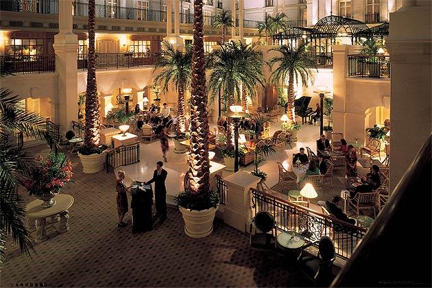 Enter The Winter Garden At The Landmark Hotel 15