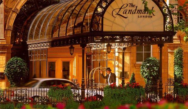 Enter The Winter Garden At Landmark Hotel Luxurious Magazine