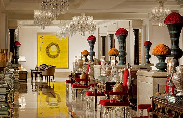 Boasting magnificent sea views over the azure blue sea of the Bay of Bengal, The Leela Palace Chennai is the Indian city's first and only sea-facing luxury hotel.