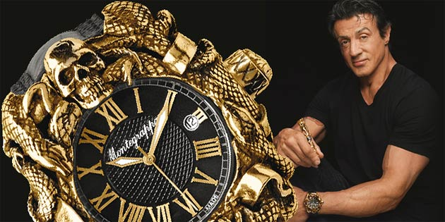 Sylvester Stallone and Montegrappa collaborate once again to create the Chaos Wristwatch Collection.