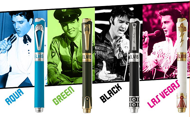 The latest Montegrappa Icons Pen Series pays homage to Elvis Presley, the King of Rock and Roll.
