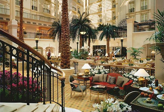 Enter The Winter Garden At The Landmark Hotel 13