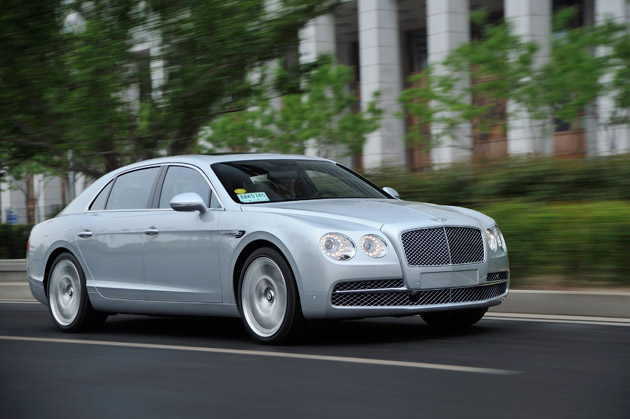 The new Bentley Flying Spur will be at the Pageant of Power