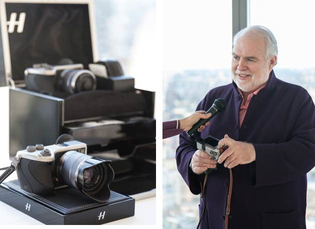 Hasselblad CEO Dr. Larry Hansen