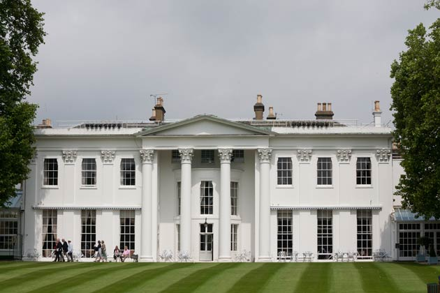 The very exclusive 42-acre Hurlingham Private Members Club in South London