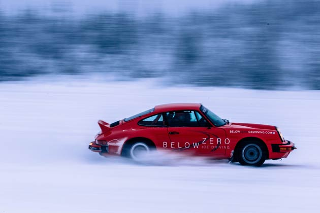 From January to the end of March 2013, customers were able to drive the 300-horsepower classic Porsche 911 rally cars to their heart's content and with one-to-one tuition from world class rally driving professionals.