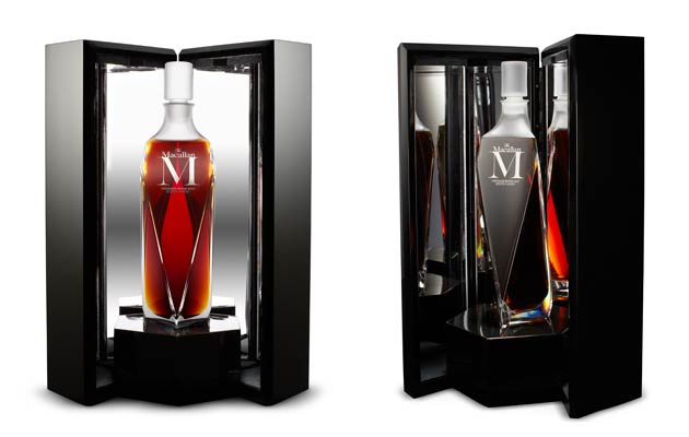 Just 1,750 crystal decanters of M, each engraved with its own number, and priced at $4,500 (around £2,870), will be released across the globe this year.