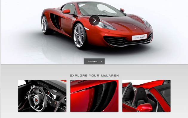 McLaren Automotive, the British manufacturer of luxury, high-performance sports cars, has officially launched their new global brand website at cars.mclaren.com.