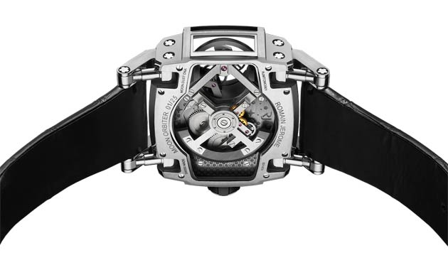 The methodology behind the design was to create a watch epitomising true sci-fi fantasy.