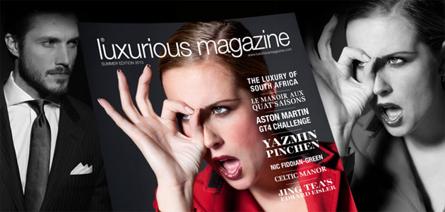 Luxurious Magazine Summer Edition 2013 is out now!