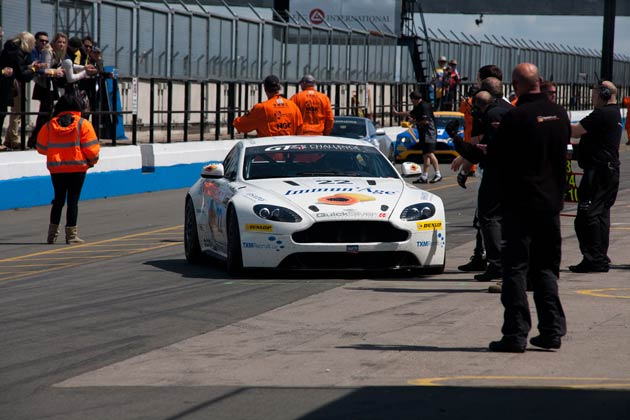 The Driving Forces - Aston Martin GT4 Challenge - Donington Park 10