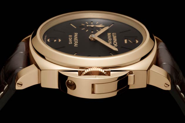 Officine Panerai Unveils Luminor Marina 8 Days Timepieces With New P.5000 Calibre