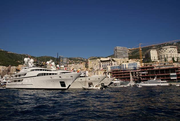 Founded in 1991, the show has grown to become Europe's biggest in-water display of superyachts.