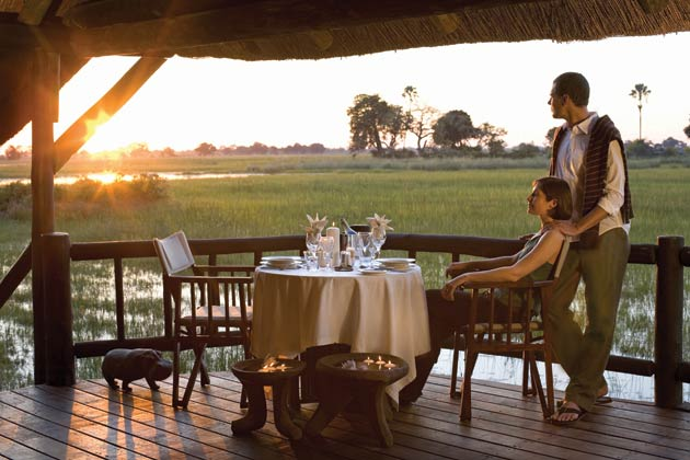 Your journey will take you to two of Orient-Express Safaris' luxury lodges – Eagle Island Camp and Khwai River Lodge