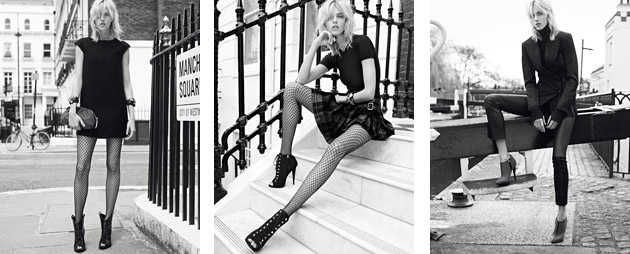 The Giuseppe Zanotti Fall Winter 2013/2014 Collection takes its inspiration from the heady world of Rock.