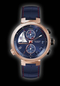 The Louis Vuitton Tambour Spin Time Regatta Unique Piec
