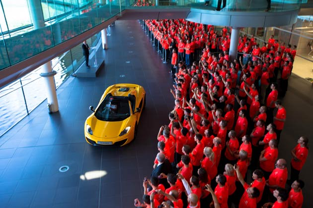 McLaren Celebrates five decades of extraordinary motor racing excellence