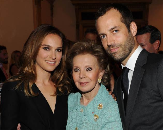 Natalie Portman, Lily Safra, Benjamin Millepied