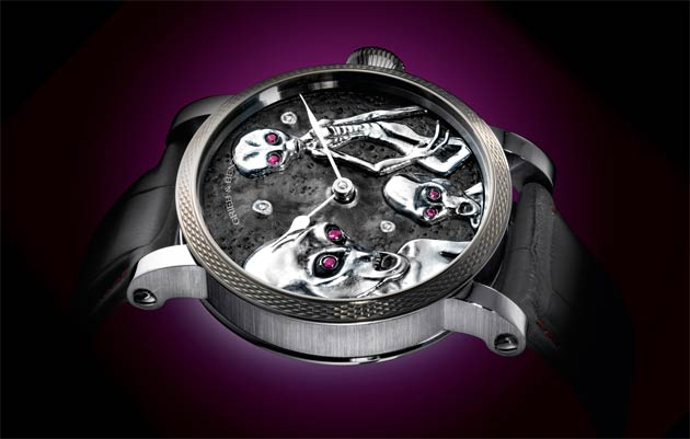 Grieb & Benzinger reveal the Area 51 timepiece - A true example of fatherly love