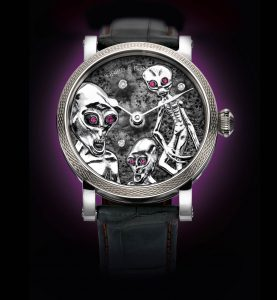 Grieb & Benzinger reveal the Area 51 timepiece
