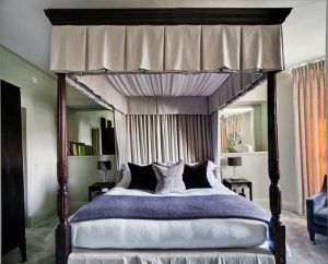 There are 15 deluxe guest rooms with art-deco inspired furniture and all the necessary mod-cons to spend a night (or few) in