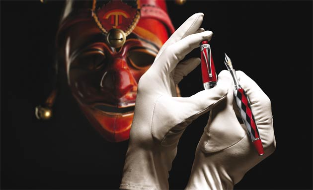 The Montegrappa Rigoletto pen the latest addition to the Emozioni in Musica collection