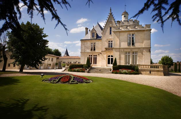 Bordeaux Wine Tour And More With Bernard Magrez - Image shows the Château Pape Clement