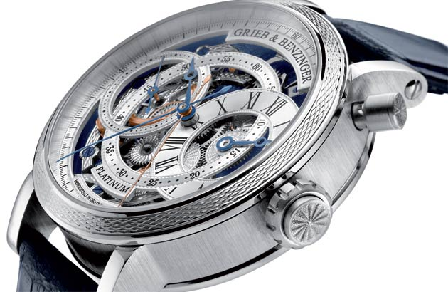 The Grieb & Benzinger Blue Sensation