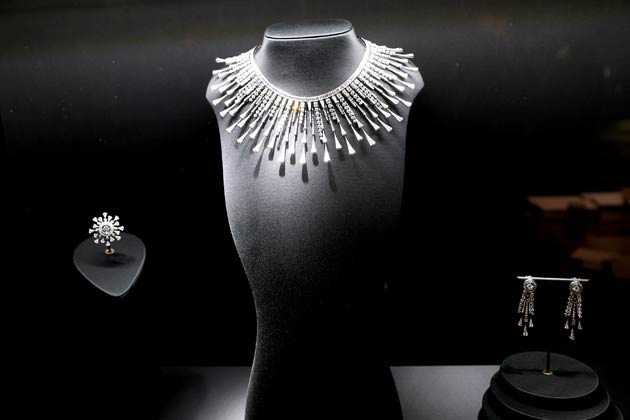 """The new High Jewelry collection """"Hôtel de la Lumière"""", a veritable ode to light: that of the stones themselves, the work of the hands that intensify them and, lastly, the brilliant beauty that shines through them."""