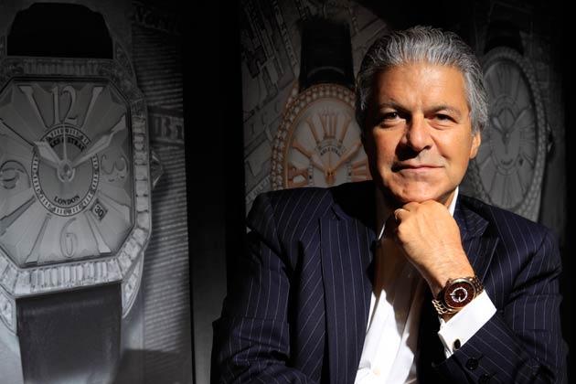 Vartkess A Knadjian, CEO of Backes & Strauss