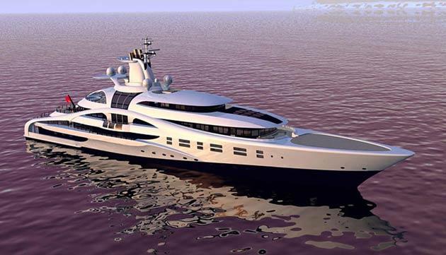 Blohm & Voss 96M/314Ft Mega Yacht Palladium