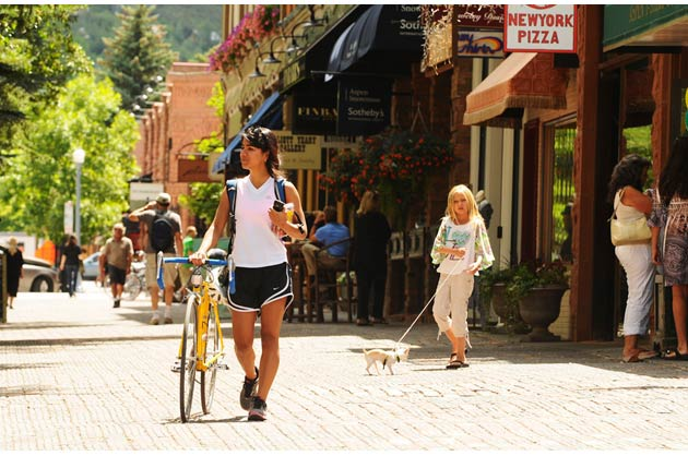 Aspen's flair for arts and culture means it still maintains enough small-town charm for year-round residents to call it home rather than functioning purely as a ski resort.