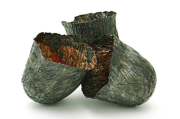 Works by metalsmith artist Claie Malet