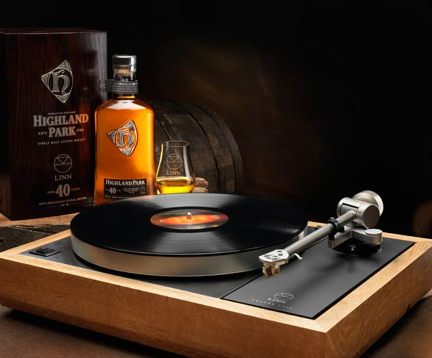Linn And Highland Park Collaborate For Limited Edition Turntable