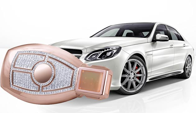 Selected Jewels launch a must have Mercedes owners accessory - A Gold and Diamond Car Key